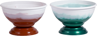 вазон двухцветный